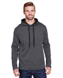 575919336-132 - A-4 Men's Tonal Space Dye-Tech Fleece Hoodie - thumbnail