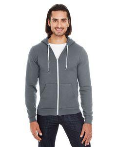 744687972-132 - American Apparel Unisex Flex Fleece USA Made Zip Hoodie - thumbnail