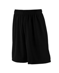 """765810864-132 - Augusta Youth Tricot Mesh/Tricot-Lined 9"""" Short - thumbnail"""