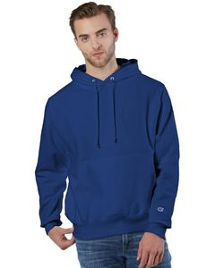 933491980-132 - Champion Reverse Weave® Pullover Hooded Sweatshirt - thumbnail