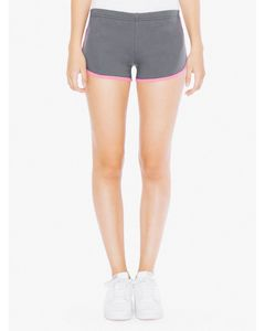 935810357-132 - American Apparel Ladies' Interlock Running Shorts - thumbnail