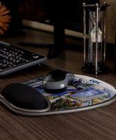 563398830-820 - Eco-Rest™ Soft Surface 4-color Mouse Pad w/Wrist Rest - thumbnail