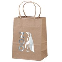 176487208-185 - Eco Pup Kraft-Brown Shopper Bag (Brilliance- Matte Finish) - thumbnail