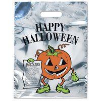 5535824-185 - Pumpkin Sliver Reflective Halloween Bag - thumbnail