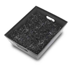315369170-202 - Large Vegan Leather Gift Basket (Empty) - thumbnail