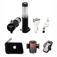 344597480-202 - Auto Kit with case, car charger, smartphone vent holder, flashlight - thumbnail