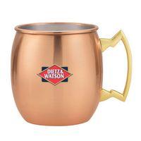 565886601-202 - Moscow Mule Mixer Gift Set w/2 18 Oz. Dutch Mules - thumbnail