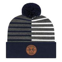 536048555-812 - Half Color Knit Cap w/Cuff - thumbnail