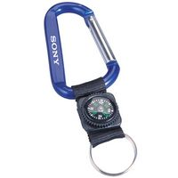 542931505-140 - Carabiner With Decorative Compass (8mm) - thumbnail