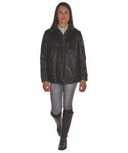 386360050-141 - Women's Animal Print New Englander® Rain Jacket - thumbnail