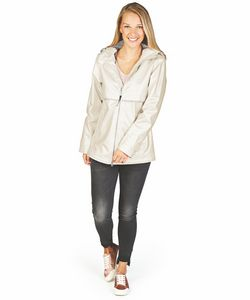 506178235-141 - Women's New Englander® Rain Jacket (Metallic) - thumbnail