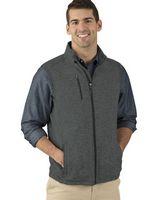965272504-141 - Men's Pacific Heathered Fleece Vest - thumbnail