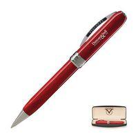 723202728-114 - Visconti Rembrandt Ballpoint Pen (Red/Silver Trim) - thumbnail