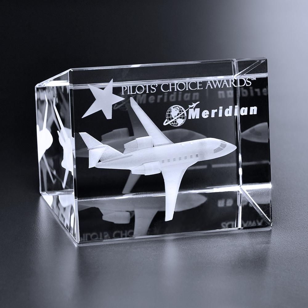 "165173908-133 - Collier Trapezoid Cube 3-3/8"" x 2-5/8"" x 2-3/4"" - thumbnail"
