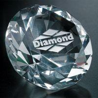 """361124193-133 - Diamond Paperweight 3-1/4"""" Dia. - thumbnail"""