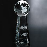 "371339192-133 - Tapered Globe 9"" - thumbnail"