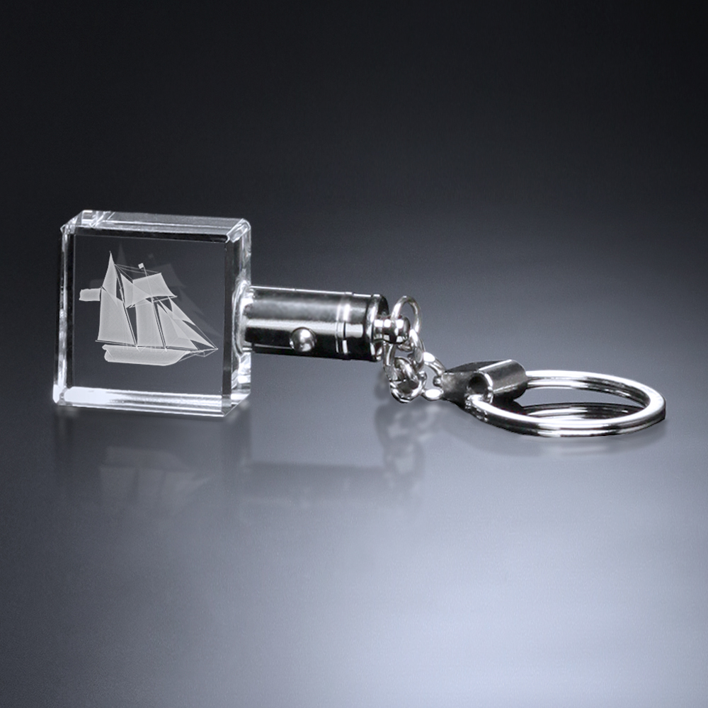 374592341-133 - Square Lighted Keychain - thumbnail