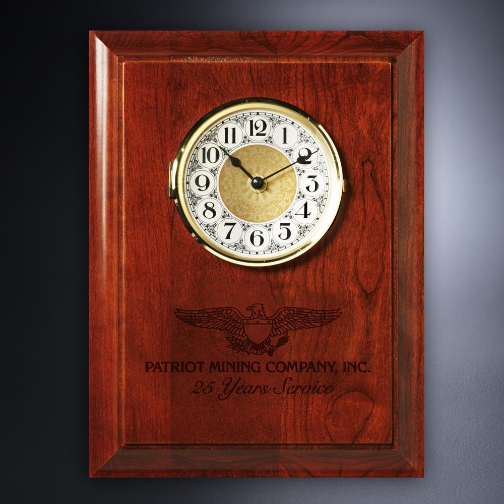 593725337-133 - Americana Wall Clock - thumbnail