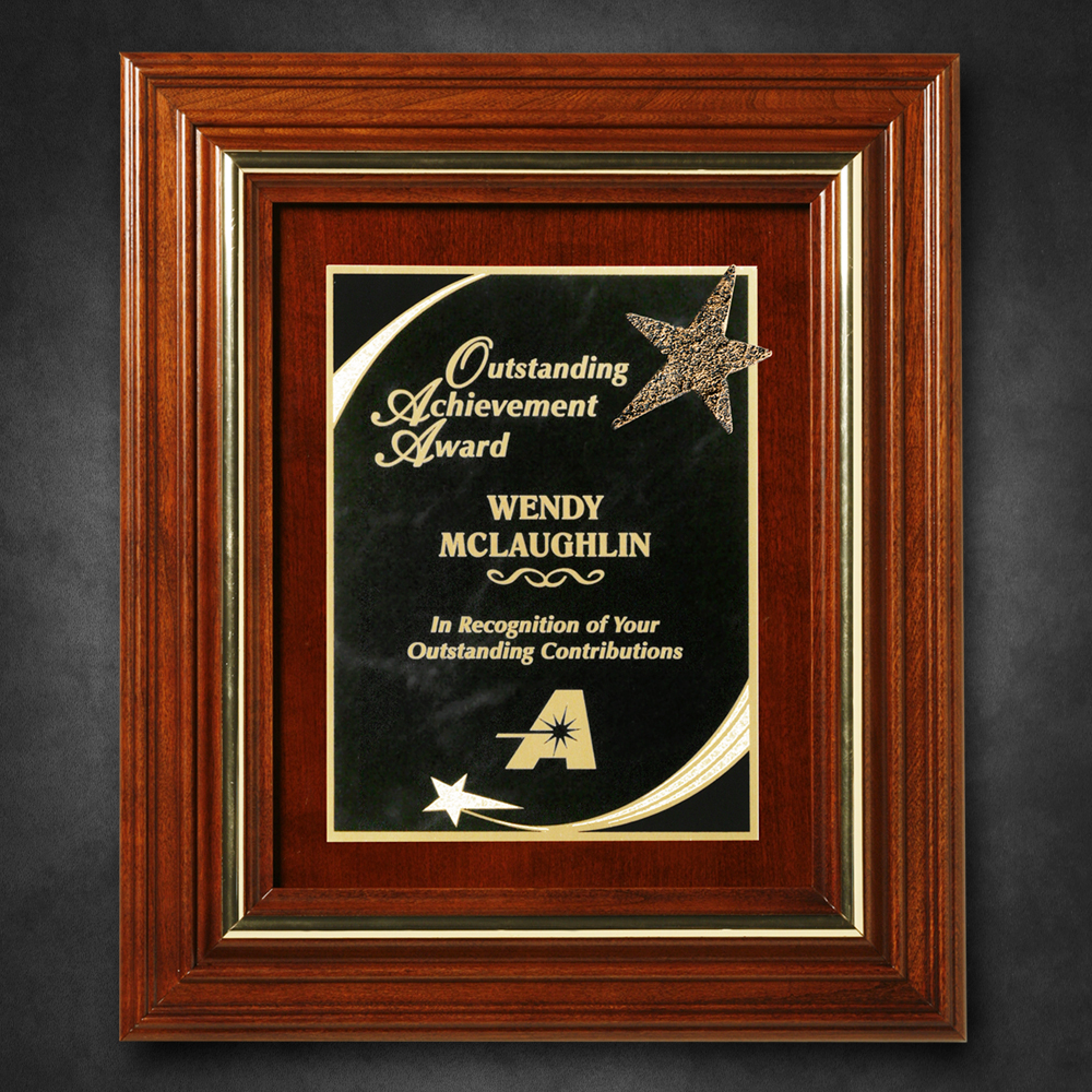 "912865261-133 - Americana Plaque 13-1/2"" x 11-1/2"" with Wood Insert - thumbnail"