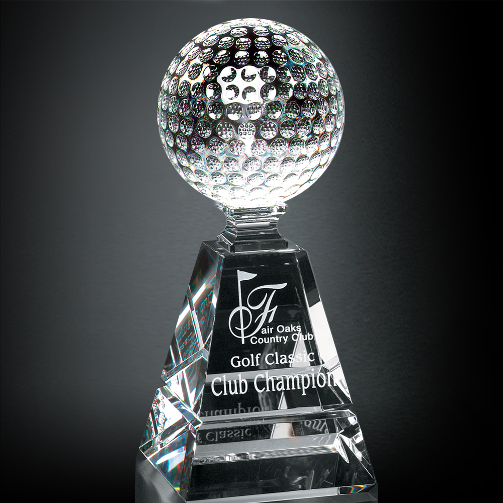 "992246278-133 - Golf Pyramid Award 8"" - thumbnail"