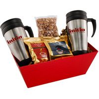 124517643-105 - Tray w/Mugs and Honey Roasted Peanuts - thumbnail