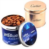 124522093-105 - Round Tin w/Almonds - thumbnail