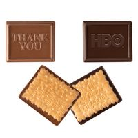 145554217-105 - Rectangle Custom Molded Chocolate Cookie - thumbnail