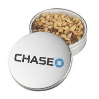 145555509-105 - Holiday Gift Tin w/Jumbo Cashews & Mixed Nuts - thumbnail