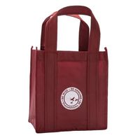146147425-105 - Non Woven Six Bottle Wine Tote - thumbnail