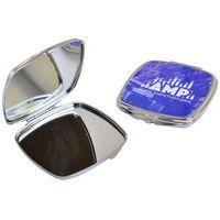 154980587-105 - Square Metal Compact Mirror - Full Color - thumbnail