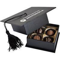 154983359-105 - Graduation Cap Box w/4 Truffles - thumbnail