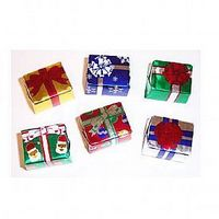 185554198-105 - Foil Wrapped Chocolate Christmas Presents - thumbnail
