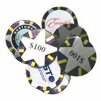185554891-105 - Decorated Custom Chocolate Poker Chips - thumbnail