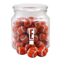324522794-105 - Jar w/Chocolate Footballs - thumbnail