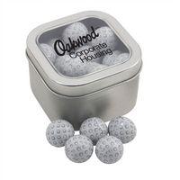 354520620-105 - Window Tin w/Chocolate Golf Balls - thumbnail