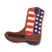 375555418-105 - Black & Red Cowboy Boot-Shaped Mint Tin - thumbnail