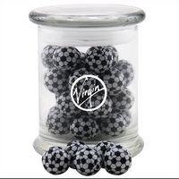 394523175-105 - Jar w/Chocolate Soccer Balls - thumbnail