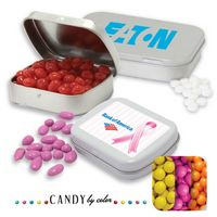 395554260-105 - Pocket Tin Large- Sixlets Candy by Color - thumbnail
