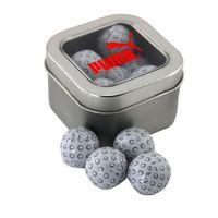 514520242-105 - Window Tin w/Chocolate Golf Balls - thumbnail