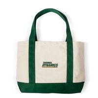 525774053-105 - Embroidered Canvas Boat Tote Bag (Embroidered) - thumbnail