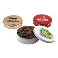534523252-105 - Gift Tin w/Choc Covered Pretzels - thumbnail