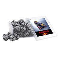 554521816-105 - Acrylic Box w/Chocolate Soccer Balls - thumbnail