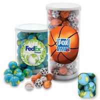 575554426-105 - Large Tennis Tube Filled w/ Chocolate Earth Balls - thumbnail