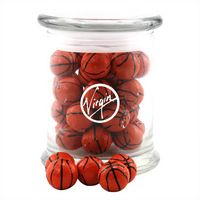 594523178-105 - Jar w/Chocolate Basketballs - thumbnail