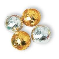 713892190-105 - Gold or Silver Foil Wrapped Chocolate Balls (Bulk) - thumbnail