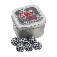 724520616-105 - Window Tin w/Chocolate Soccer Balls - thumbnail