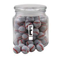 724522795-105 - Jar w/Chocolate Baseballs - thumbnail