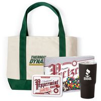 725774452-105 - Canvas Boat Tote Bag Premium Gift Set (Embroidered) - thumbnail