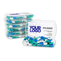 736099444-105 - DIY Business Card Holder Kit with 1.5oz. Personalized M&M'S® (Pack of 24) - thumbnail