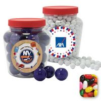745554414-105 - Apothecary Tub Resealable Container Filled w/ Assorted Jelly Beans - thumbnail